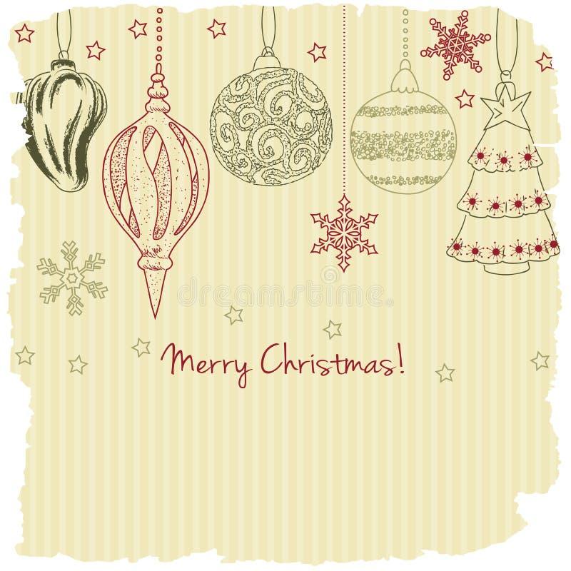 2015, tarjeta de felicitación de la Feliz Navidad libre illustration