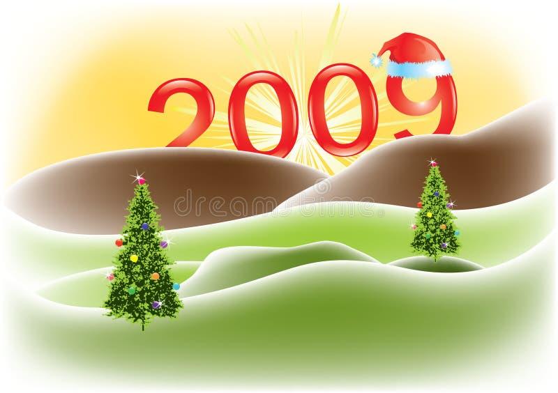 Download Tarjeta De Felicitación De La Navidad Ilustración del Vector - Ilustración de diseño, claus: 7277868
