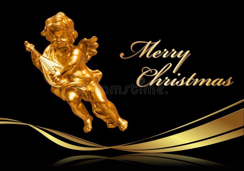 Tarjeta de felicitación de la Navidad - Feliz Navidad libre illustration
