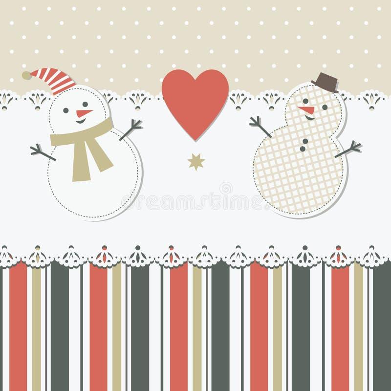 Tarjeta de felicitación de la Navidad y del Año Nuevo libre illustration