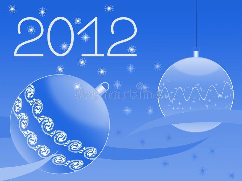 Tarjeta de felicitación del Año Nuevo libre illustration