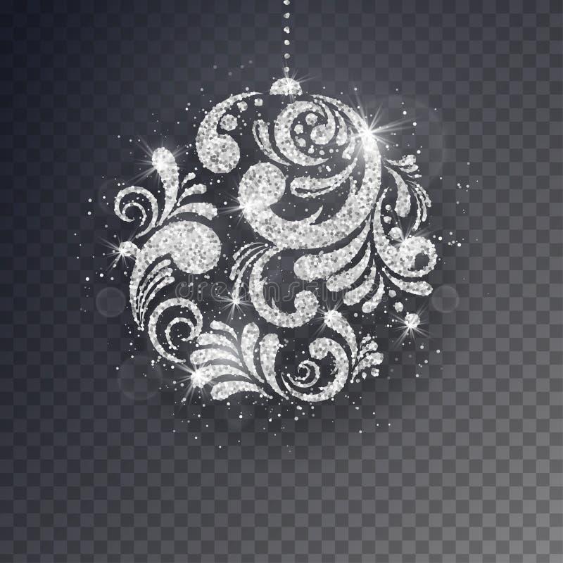 Tarjeta de felicitación del Año Nuevo de la Navidad del vector libre illustration