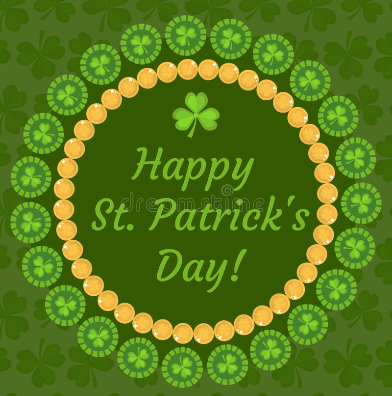 Tarjeta De Felicitación Del Día Del ` S De St Patrick, Invitación ...
