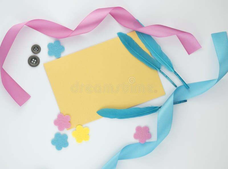 Tarjeta de felicitación del resorte imagen de archivo libre de regalías