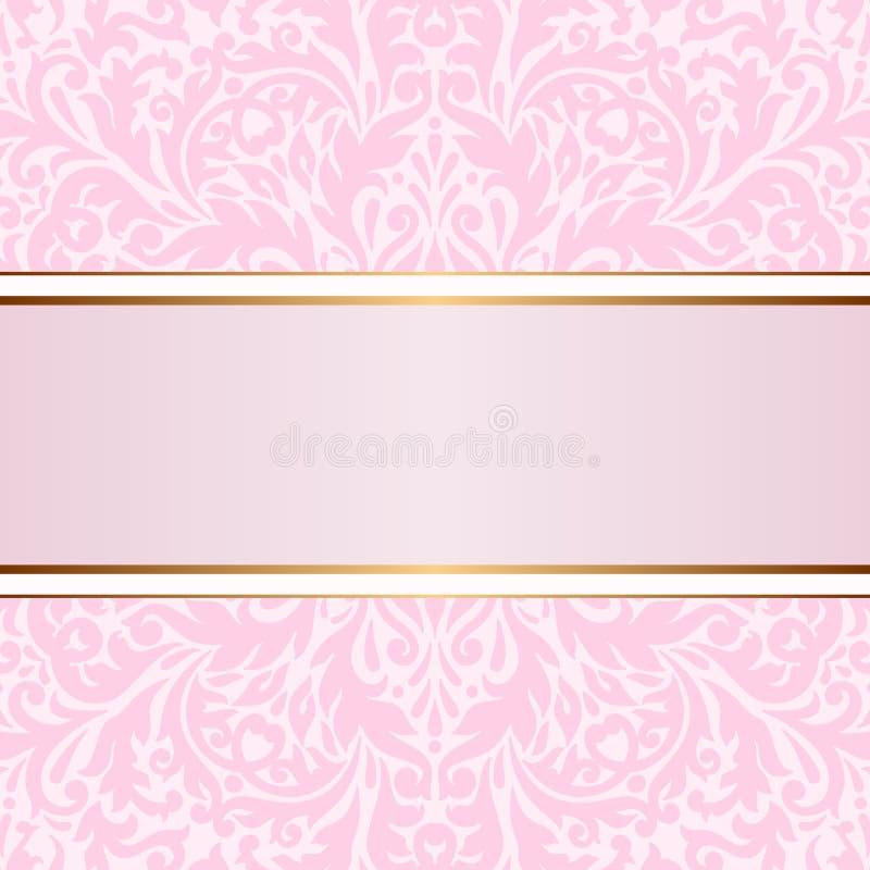 Tarjeta de felicitación del vector. stock de ilustración