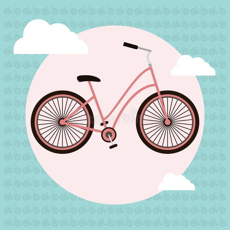 Download Tarjeta De Felicitación Del Vector De La Bicicleta Ilustración del Vector - Ilustración de papel, concepto: 64213097