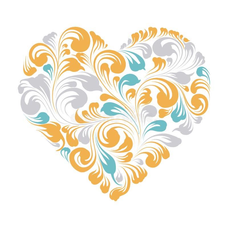 Tarjeta de felicitación feliz de las tarjetas del día de San Valentín stock de ilustración