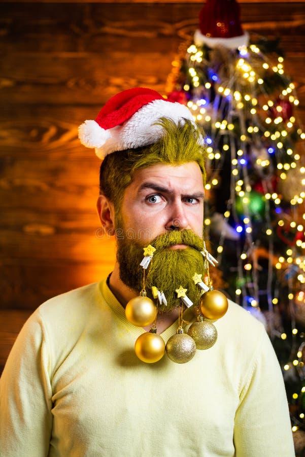 Tarjeta de felicitaci?n de la Feliz Navidad y de la Feliz A?o Nuevo Invierno divertido D?a y la Navidad de la acci?n de gracias fotos de archivo