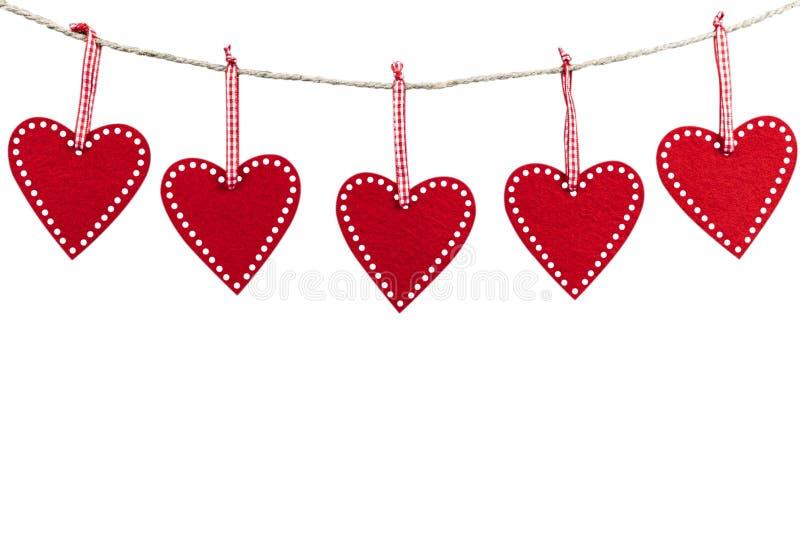 Tarjeta de la tarjeta del día de San Valentín Marco del corazón Elemento romántico de la decoración para el día de madres Rose ro imagenes de archivo