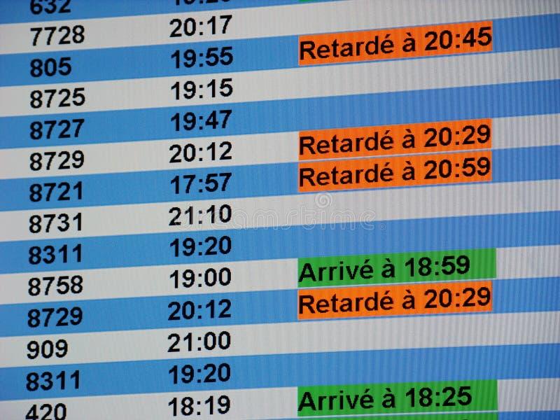 Download Tarjeta De La Información Del Aeropuerto Foto de archivo - Imagen de salida, viaje: 7286372