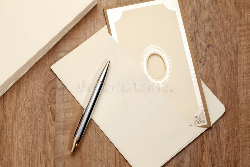 Tarjeta _1 de la invitación fotografía de archivo libre de regalías