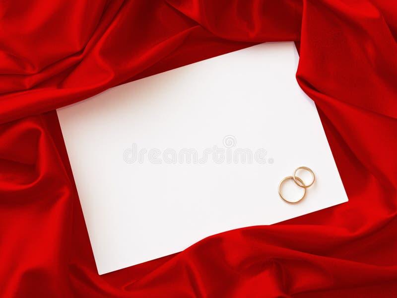 Tarjeta de la invitación imagen de archivo