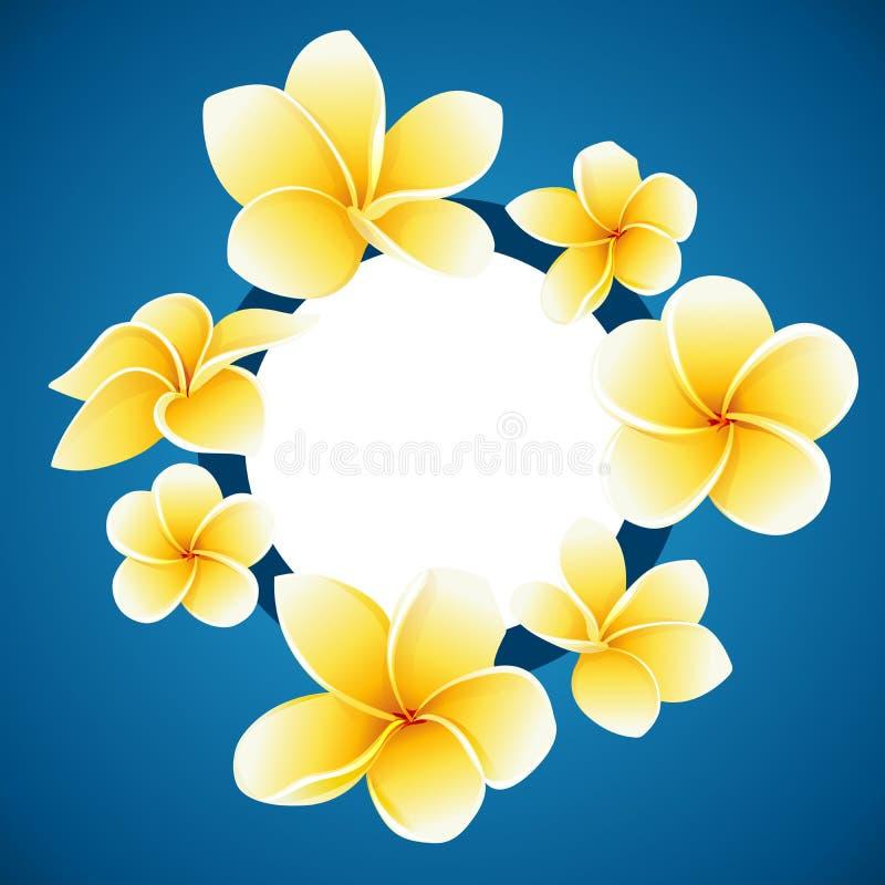 Tarjeta de la invitación SALVO LA FECHA con el ejemplo decorativo del vector de las flores foto de archivo