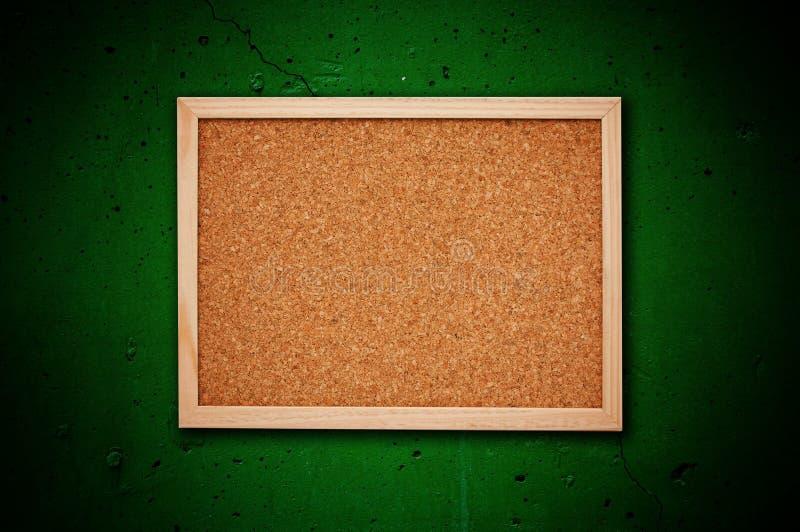 Tarjeta de memoria del corcho imagen de archivo libre de regalías