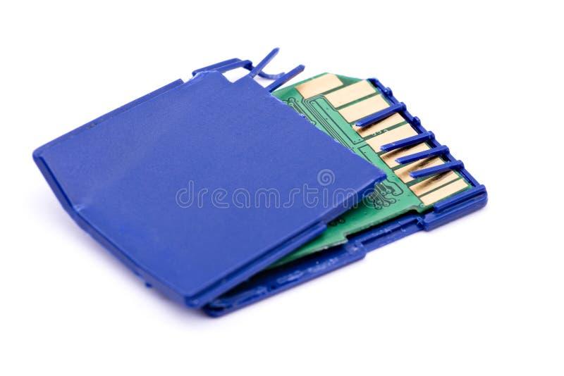 tarjeta de memoria quebrada