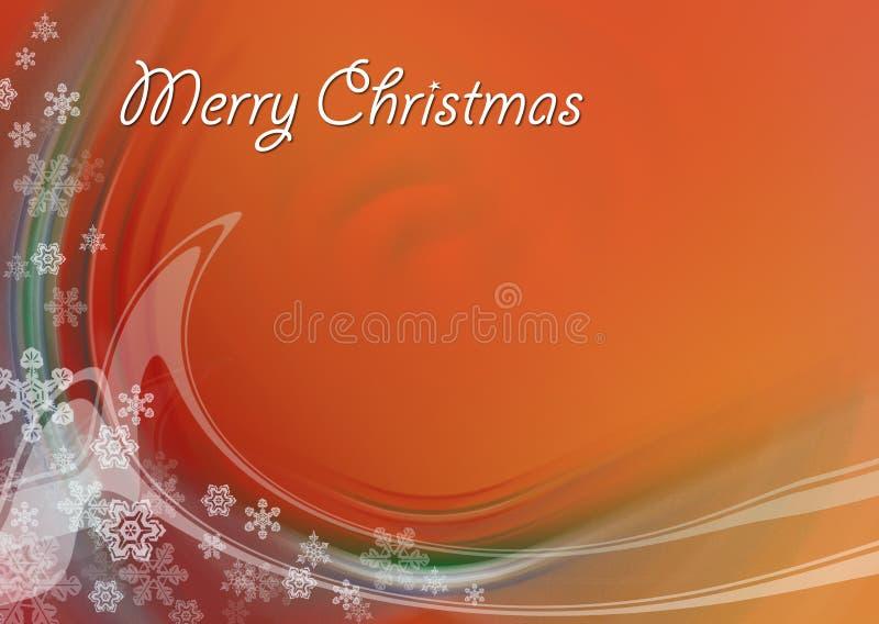 Tarjeta de Navidad 07 ilustración del vector