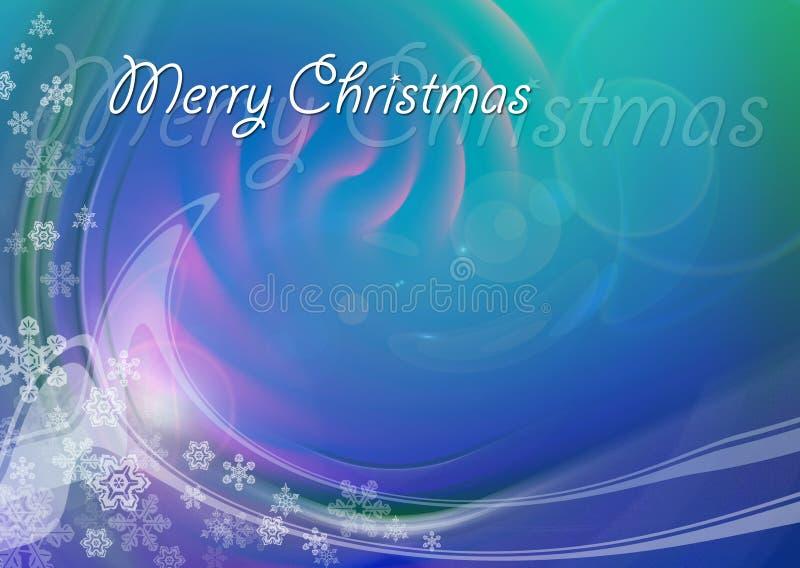 Tarjeta de Navidad 09 ilustración del vector
