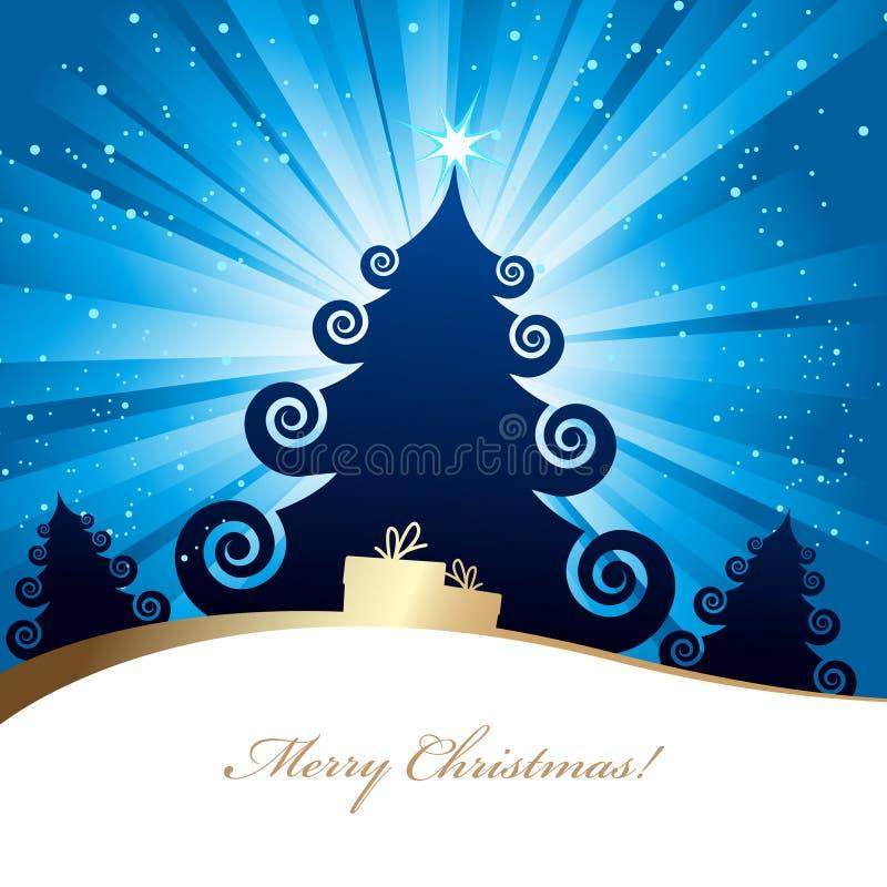Tarjeta de Navidad. imágenes de archivo libres de regalías