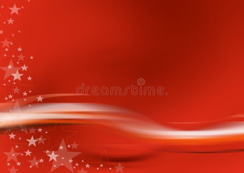 Tarjeta de Navidad 12 stock de ilustración