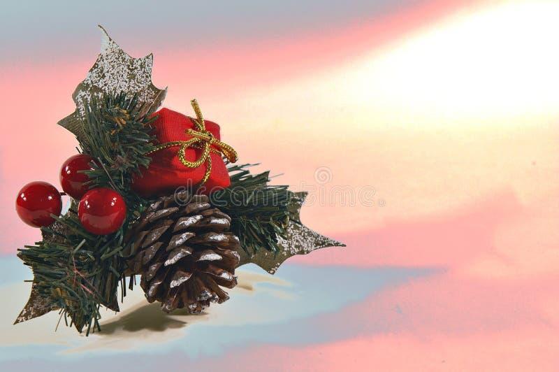 Tarjeta de Navidad abstracta fotografía de archivo libre de regalías