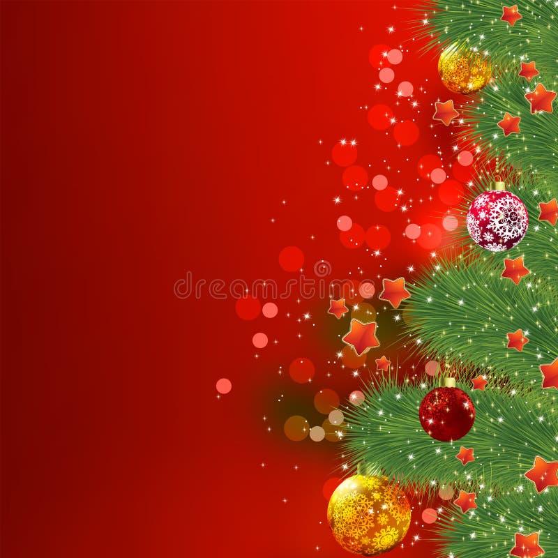 Tarjeta De Navidad. EPS 8 Fotografía de archivo
