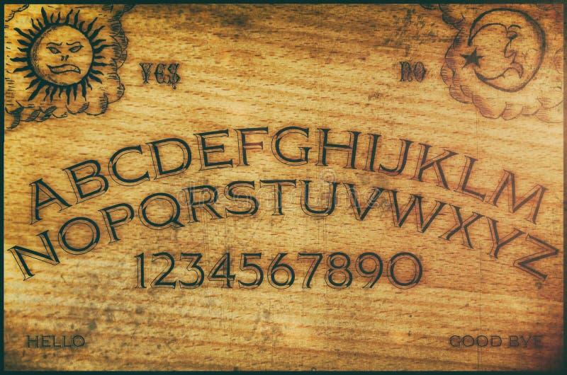 Tarjeta de Ouija fotografía de archivo