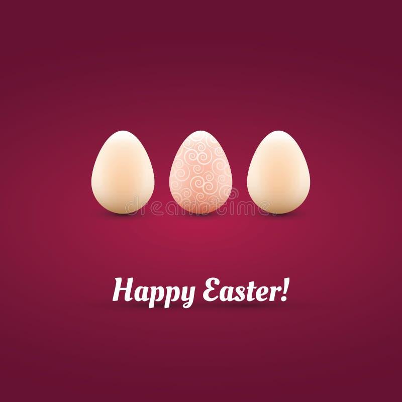 Tarjeta De Pascua Feliz Imagen de archivo libre de regalías