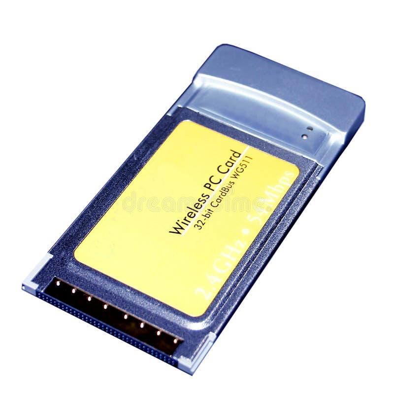 Tarjeta De PCMCIA Imagen editorial