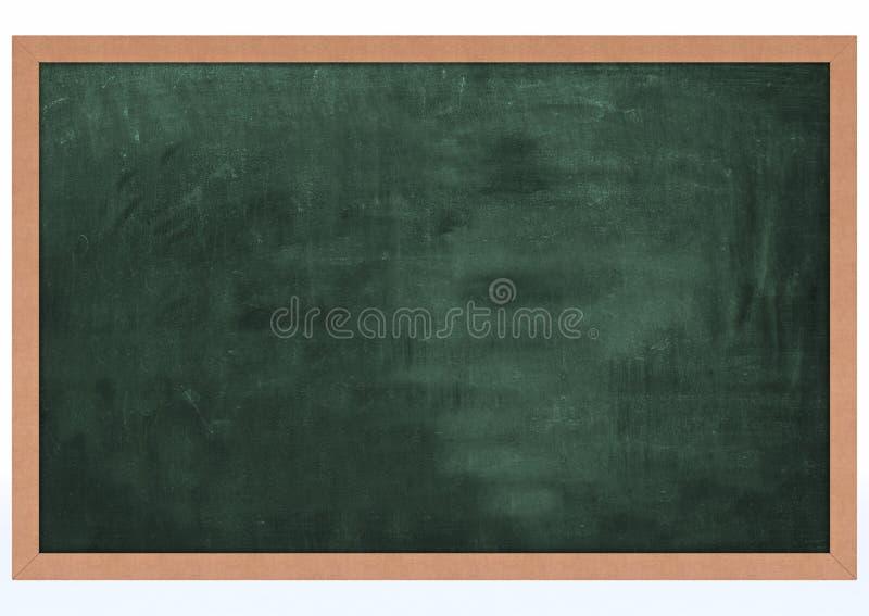 Tarjeta de tiza en blanco stock de ilustración