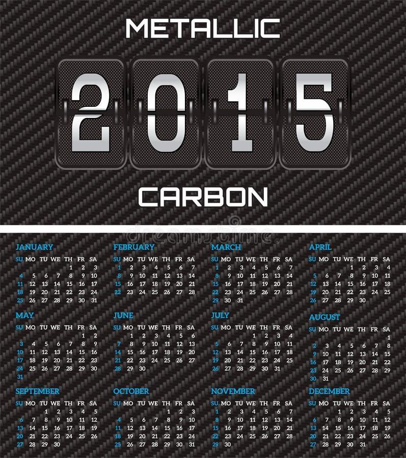 Download Tarjeta De Visita Bilateral Con El Fondo Del Calendario Y Del Carbono Ilustración del Vector - Ilustración de marco, nuevo: 44857693