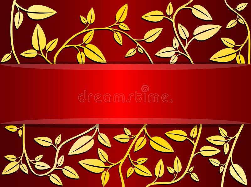 Tarjeta decorativa del vector fotos de archivo libres de regalías