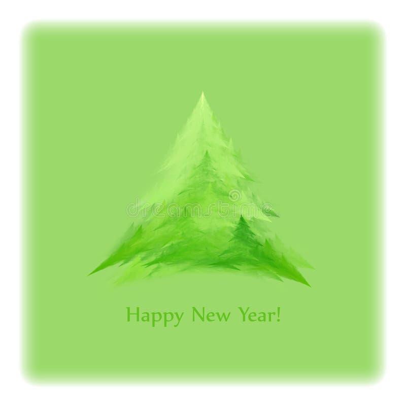 Download Tarjeta del Año Nuevo stock de ilustración. Ilustración de año - 17483043