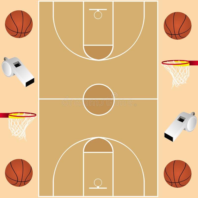 Tarjeta del baloncesto fotografía de archivo libre de regalías