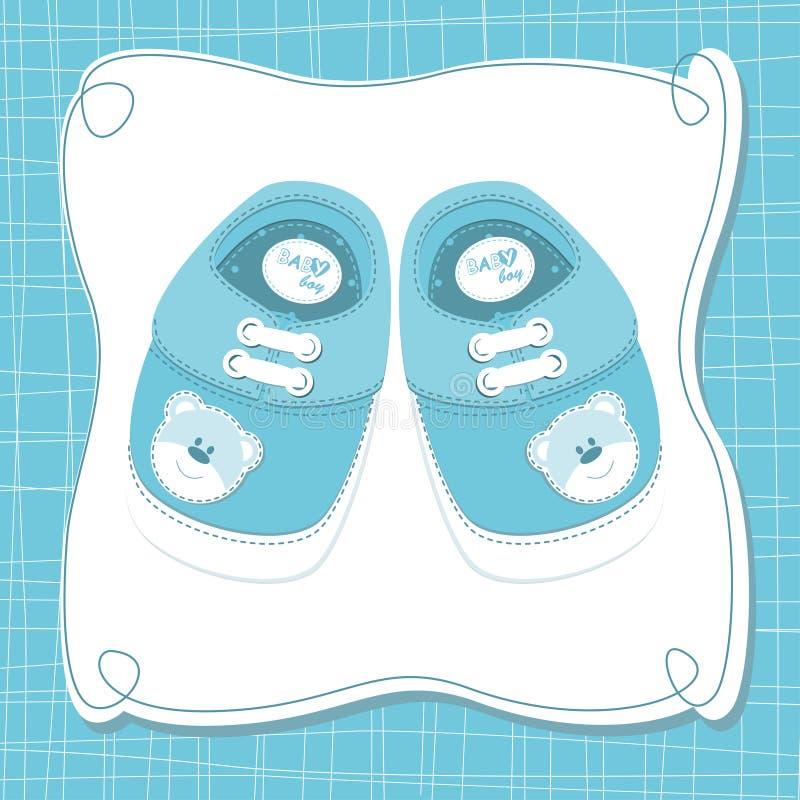 Tarjeta del bebé del vector libre illustration