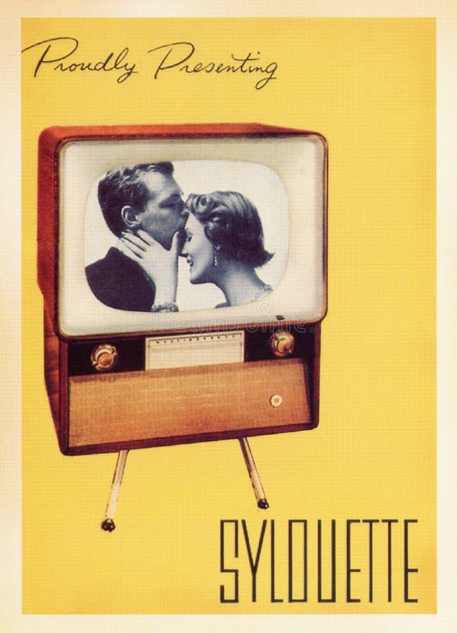 Tarjeta del cartel del vintage imágenes de archivo libres de regalías