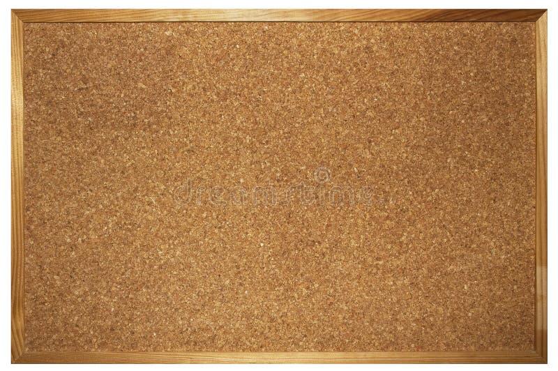 Tarjeta del corcho foto de archivo