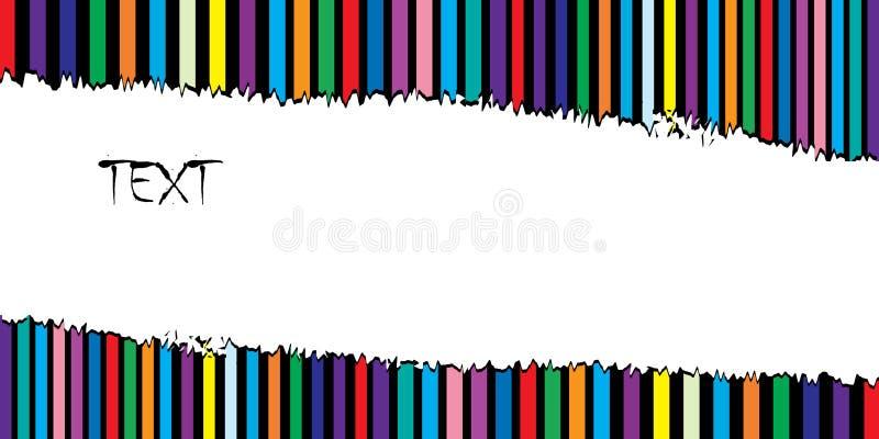 Tarjeta del día de fiesta con el espacio para el texto. stock de ilustración