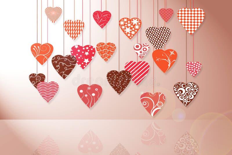 Download Tarjeta Del Día De Fiesta Para El Día De Tarjeta Del Día De San Valentín Stock de ilustración - Ilustración de ordenador, fondos: 42439032