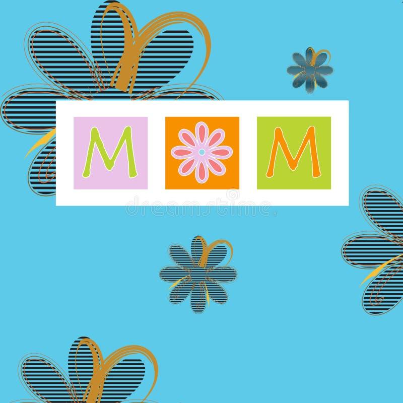 Tarjeta del día de madre libre illustration