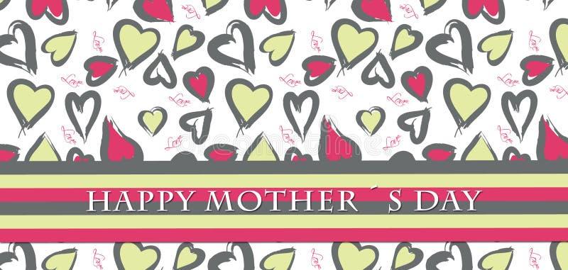 Tarjeta del día de madre fotografía de archivo libre de regalías