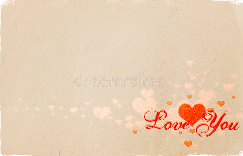 Tarjeta Del Día De San Valentín 01 Fotografía de archivo libre de regalías