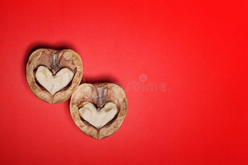 Tarjeta del día de San Valentín de papel del St del fondo de los corazones fotos de archivo libres de regalías