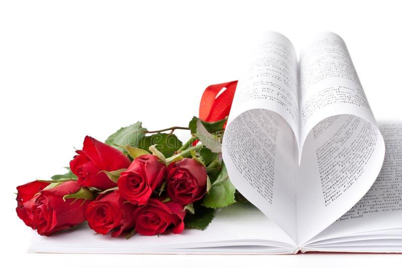Tarjeta del día de tarjetas del día de San Valentín. imagenes de archivo