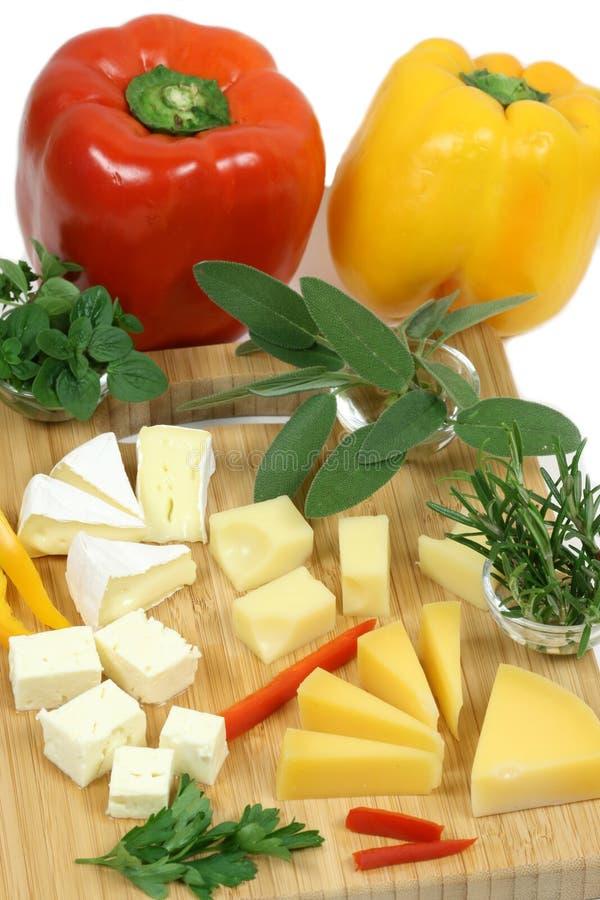Tarjeta del queso fotos de archivo libres de regalías