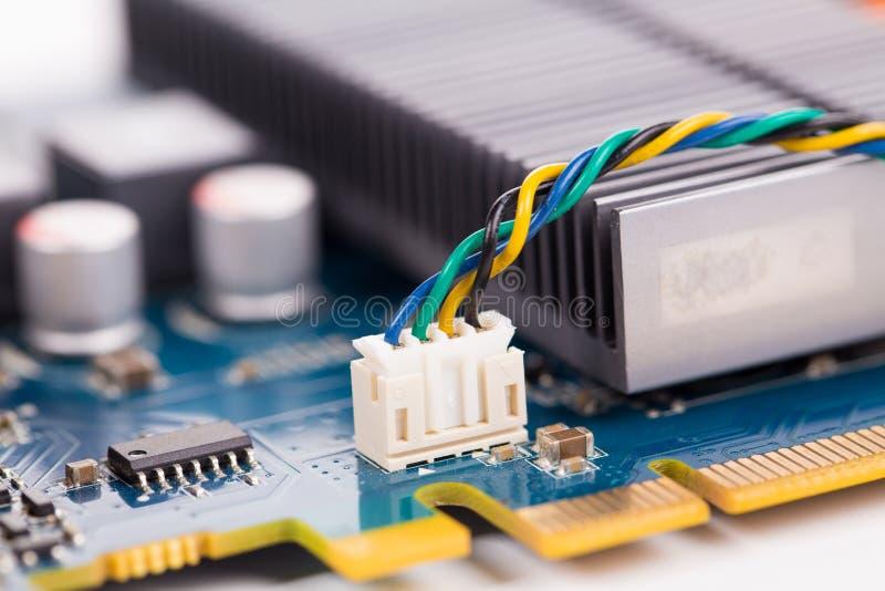 tarjeta electrónica imagenes de archivo