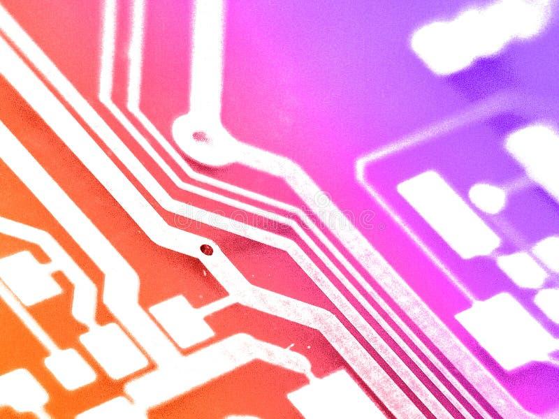 Tarjeta electrónica del circuito fotos de archivo libres de regalías