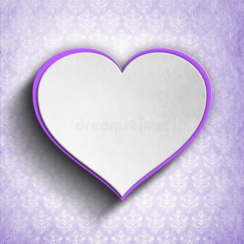Tarjeta feliz del día de tarjeta del día de San Valentín stock de ilustración