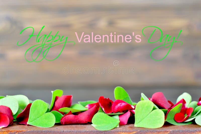 Tarjeta Feliz Del Día De Tarjetas Del Día De San Valentín Con Los ...