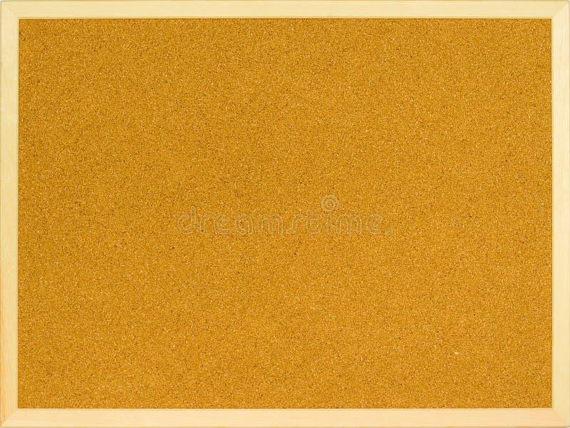 Tarjeta llana del corcho fotografía de archivo libre de regalías