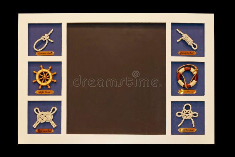 Tarjeta náutica imagen de archivo libre de regalías